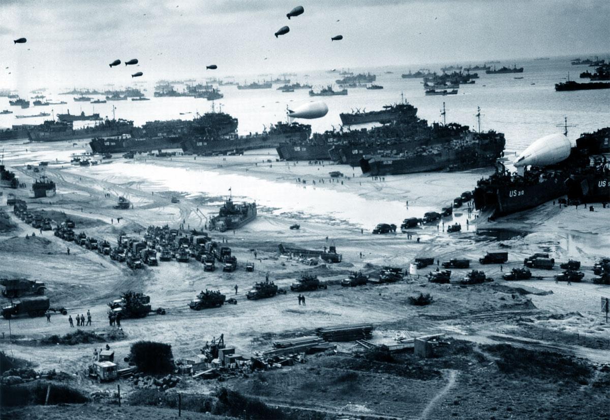 Lo sbarco in Normandia, 6 giugno 1944 (Seconda Guerra Mondiale)