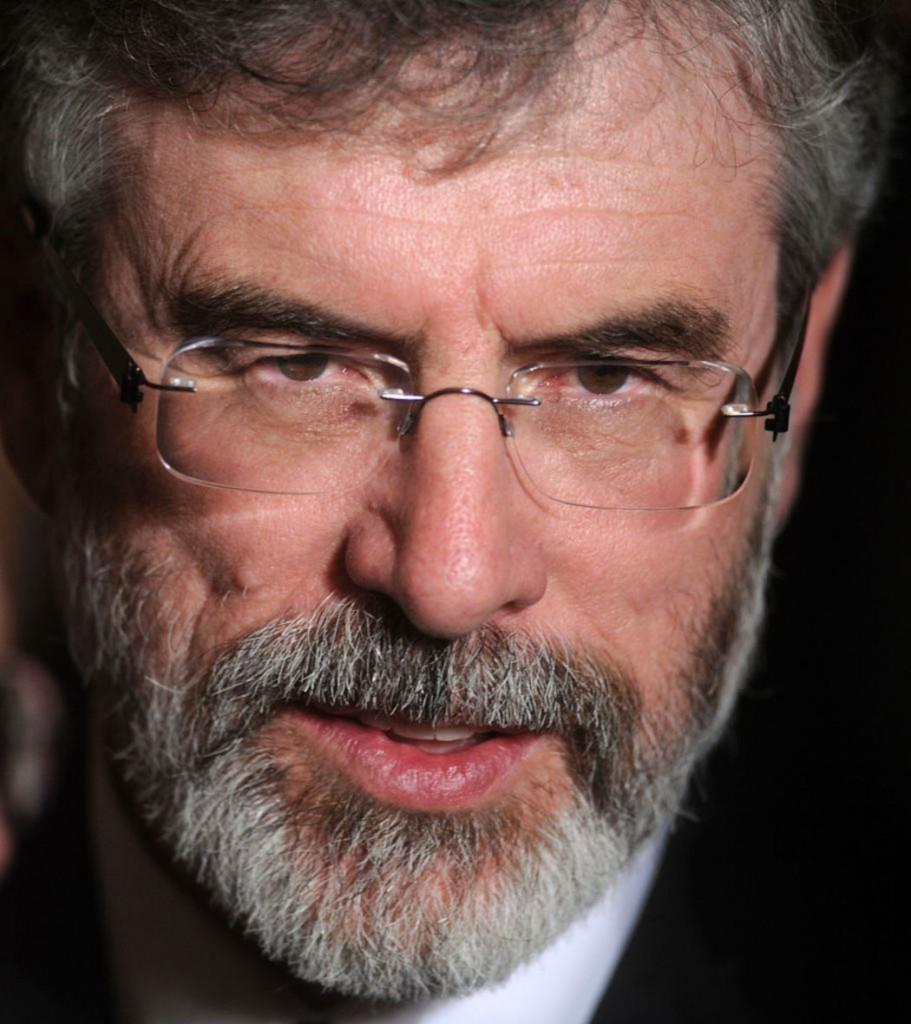 Gerry Adams, leader politico indipendentista nordirlandese