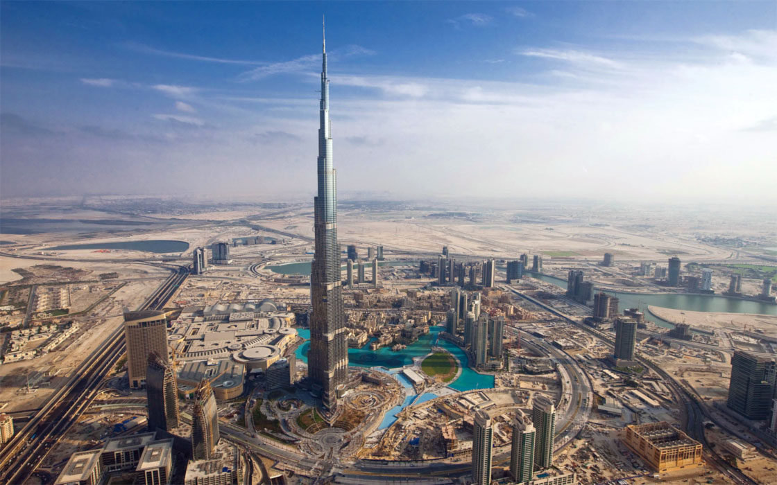 il grattacielo pi alto del mondo burj khalifa