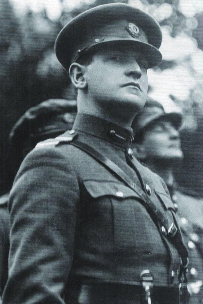 Il patriota irlandese Michael Collins (conosciuto anche come Mick)