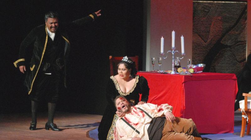 Una scena tratta da "Tosca"