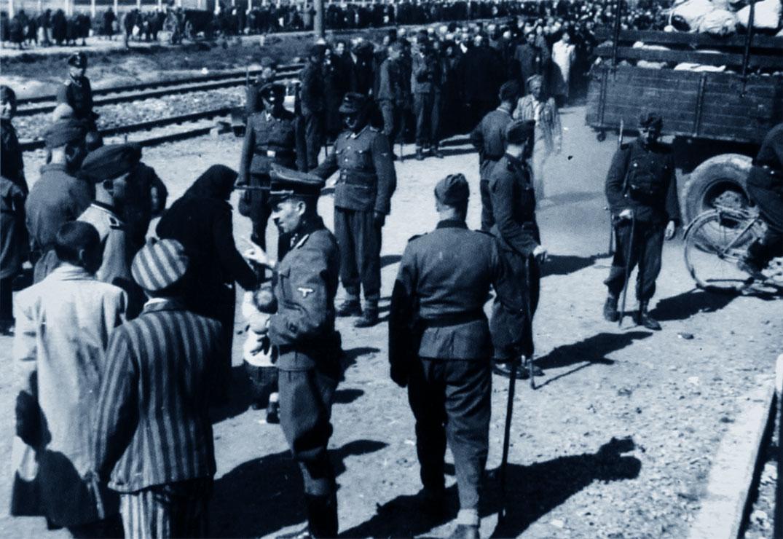 Auschwitz, detenuti e militari tedeschi