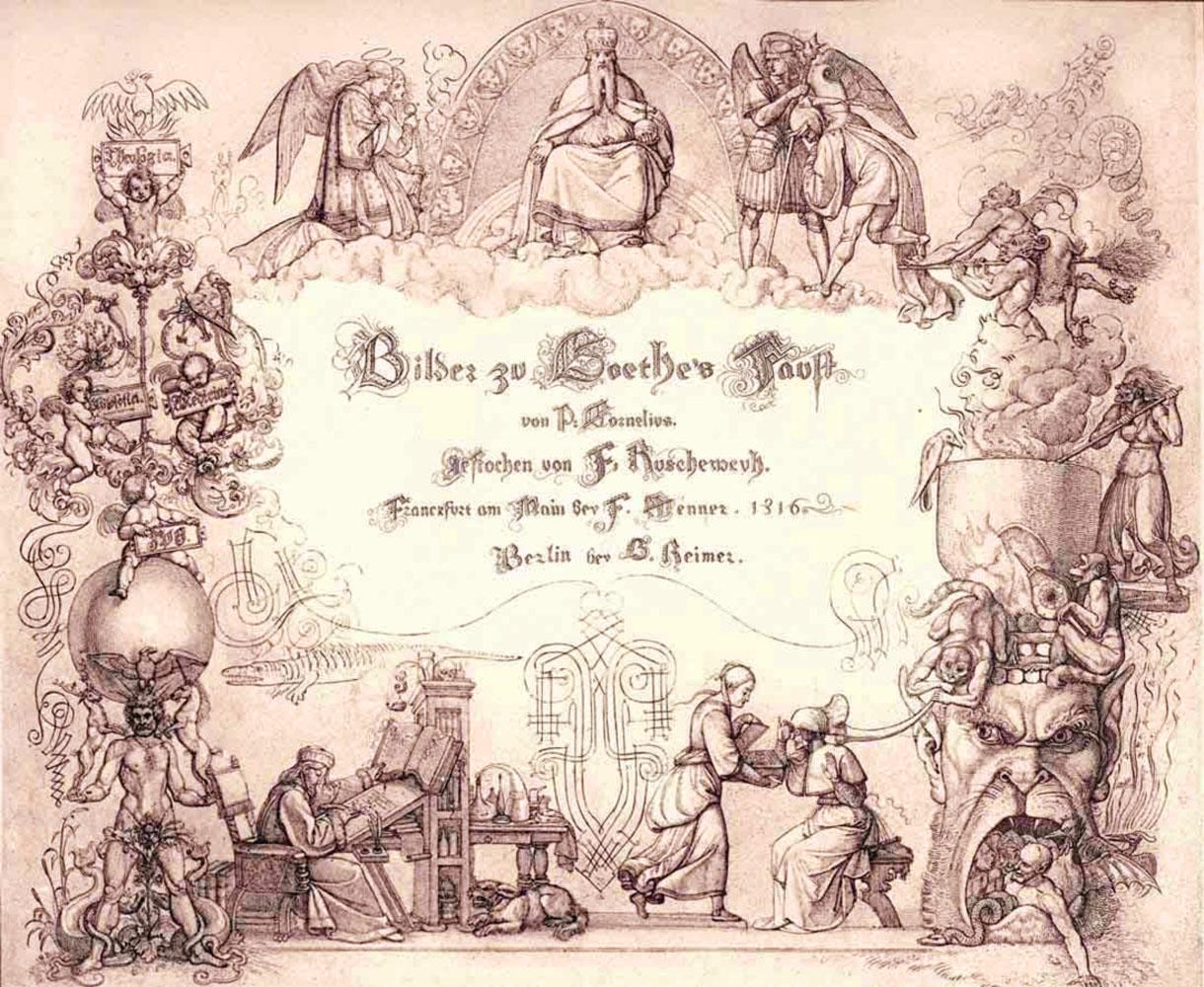 Incisioni per il Faust di Goethe