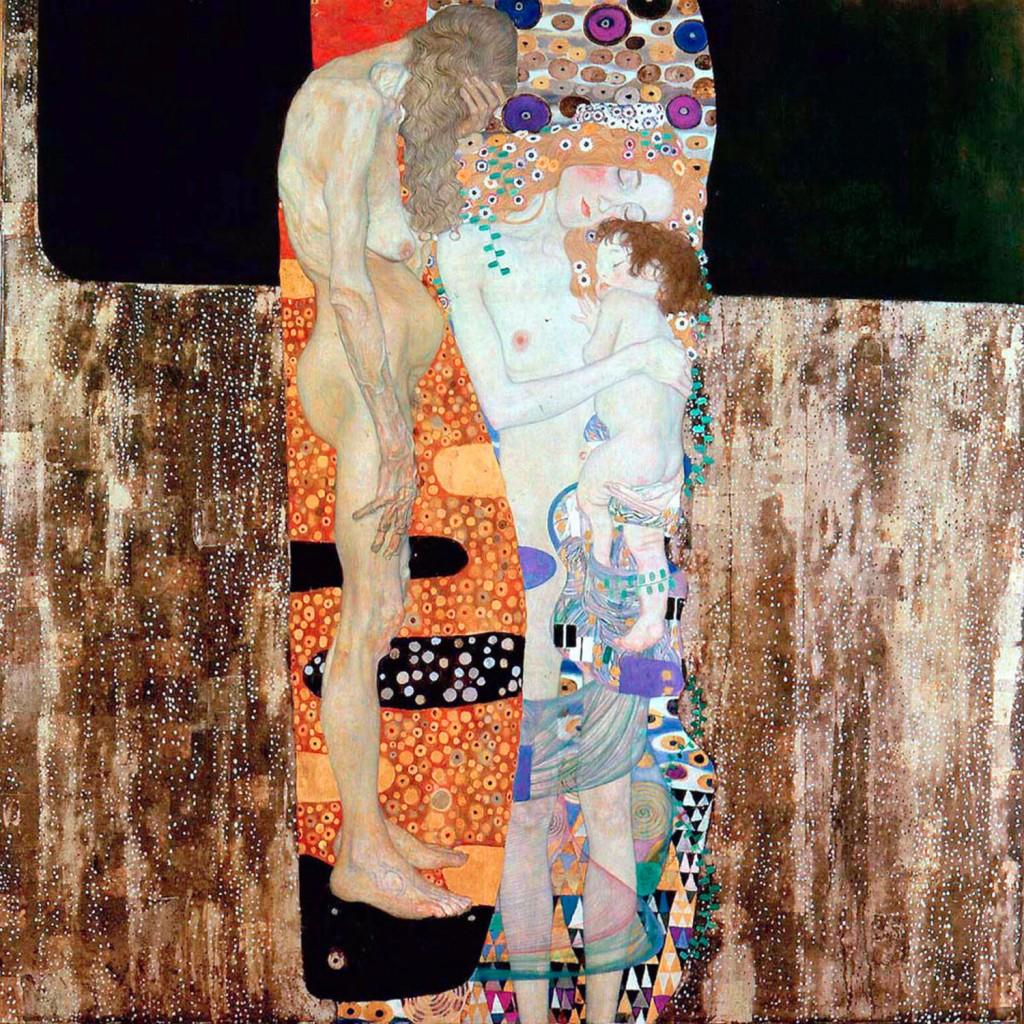Le tre età della donna (Gustav Klimt, 1905)