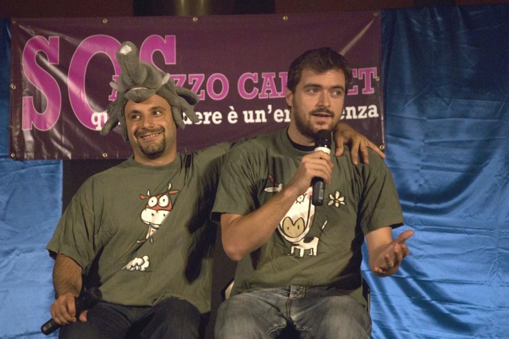 """Riccardo Valeriani e Samuele Boncompagni sono """"Noidellescarpediverse"""""""
