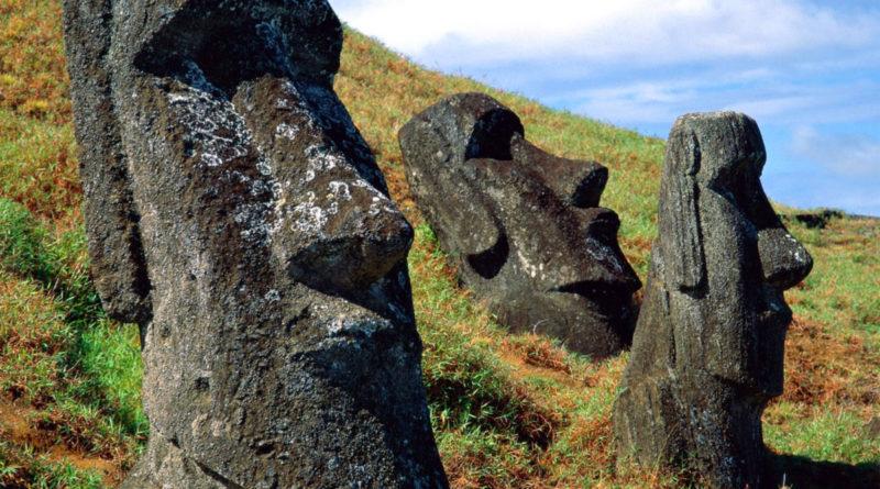 Le statue dell'isola di Pasqua
