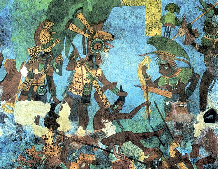 I Maya e la guerra
