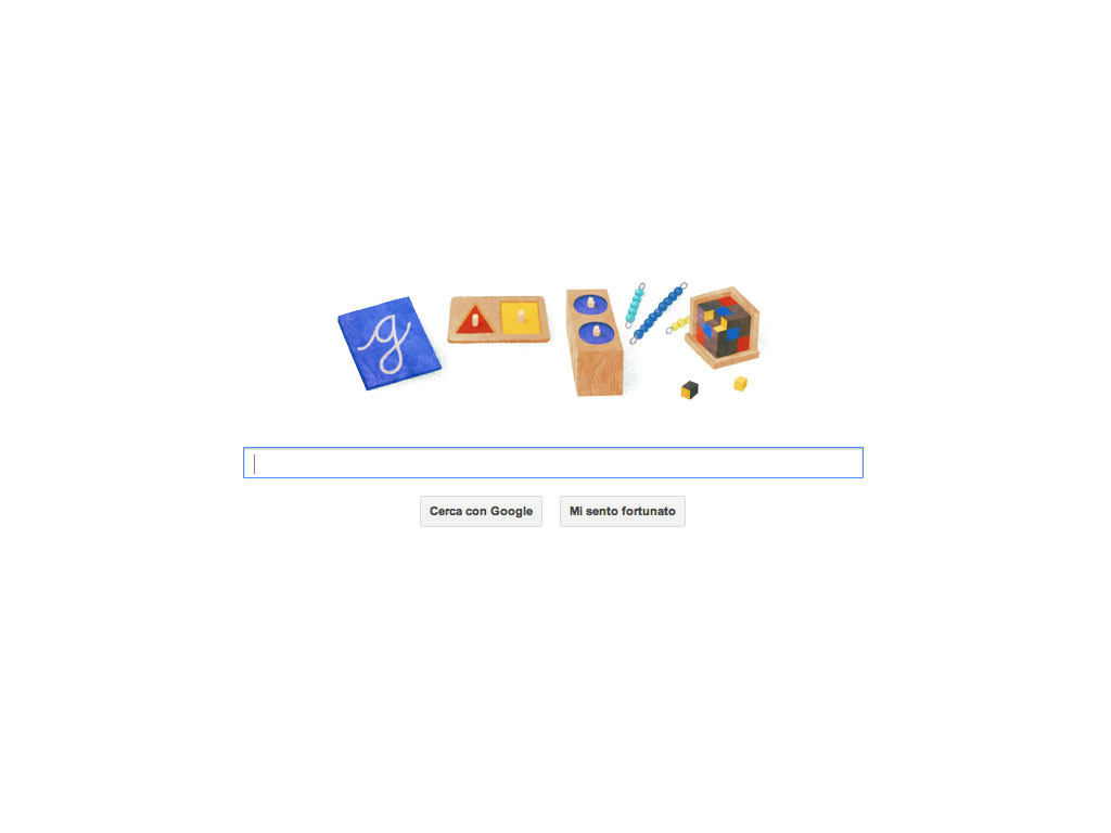 Google celebra Maria Montessori