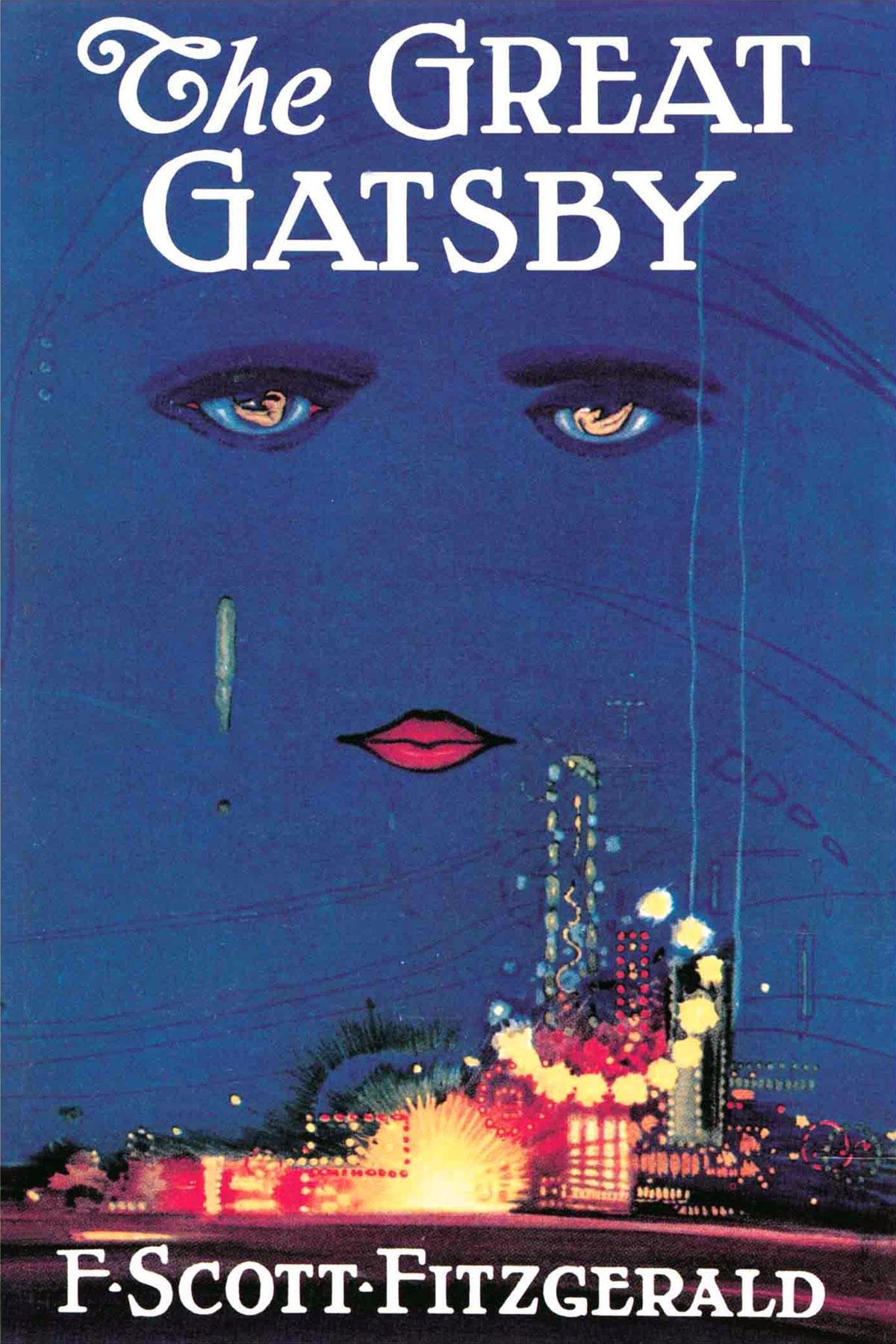 Il grande Gatsby (di Francis Scott Fitzgerald) - La copertina dell'edizione del 1925 ad opera di Francis Cugat