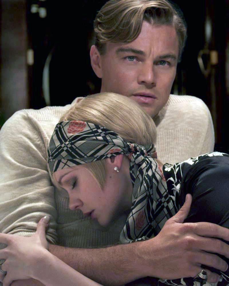 Leonardo DiCaprio nei panni di Gatsby