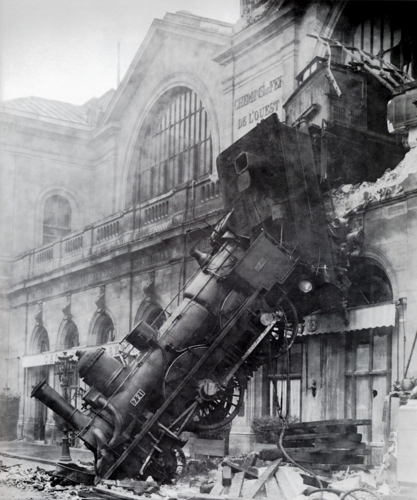 Incidente ferroviario di Montparnasse - 1895
