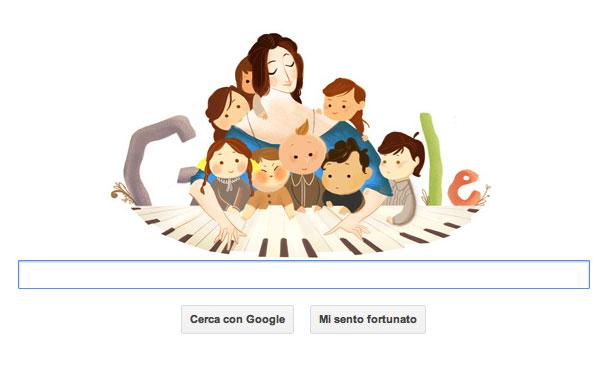 Doodle Google dedicato a Clara Schumann