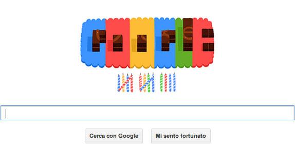 Doodle per il 14° compleanno di Google