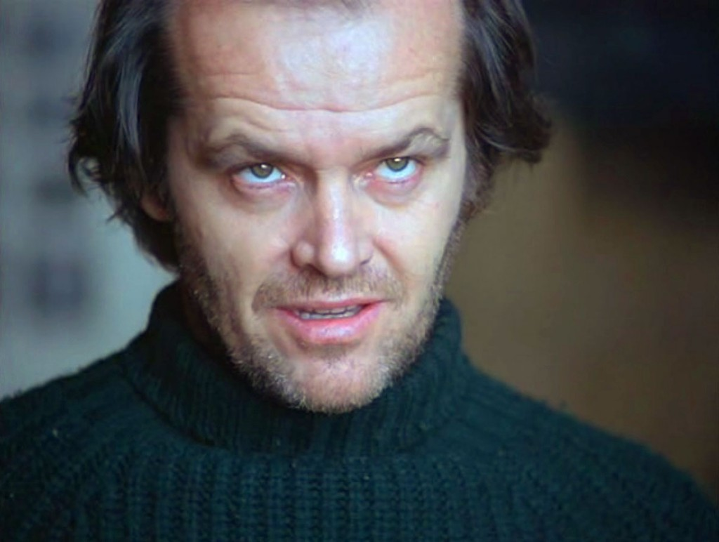 Jack Nicholson, Shining (1980)
