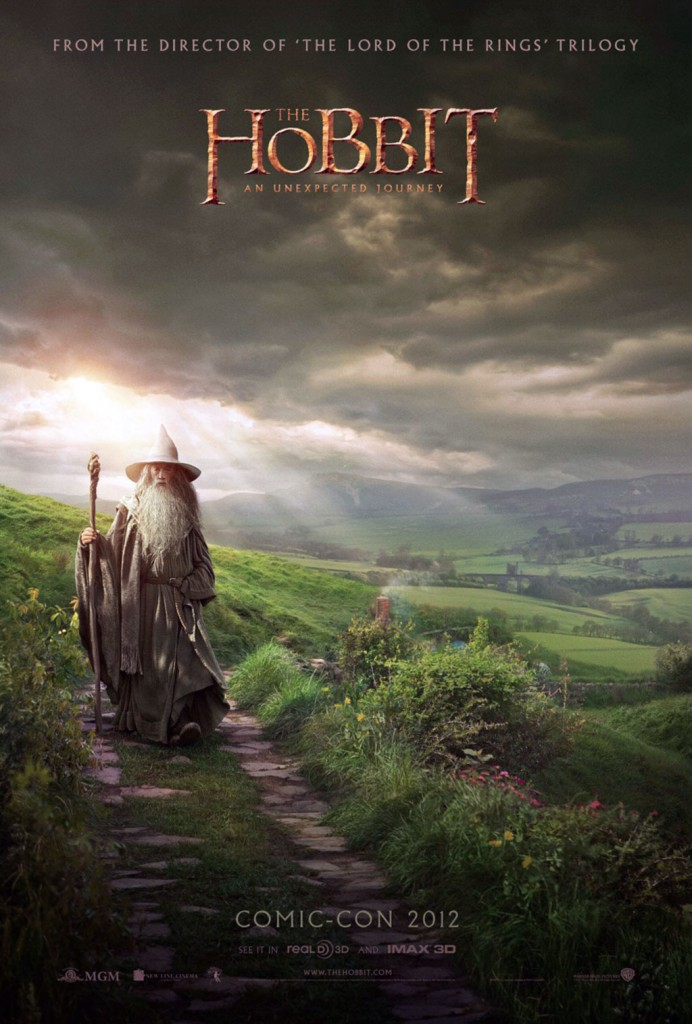 Lo Hobbit, Locandina del film