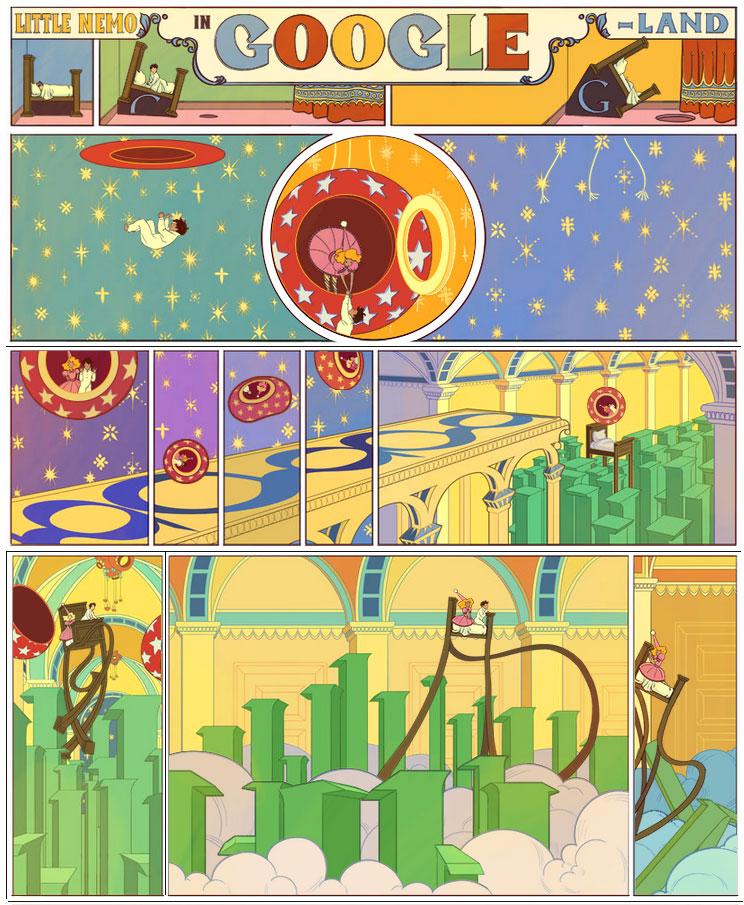 Google Doodle dedicato a Winsor McCay