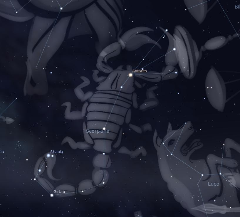 Costellazione dello Scorpione