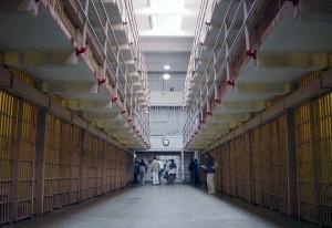 Alcatraz: una foto dell'interno