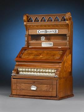 Uno dei primi registratori di cassa - 1879