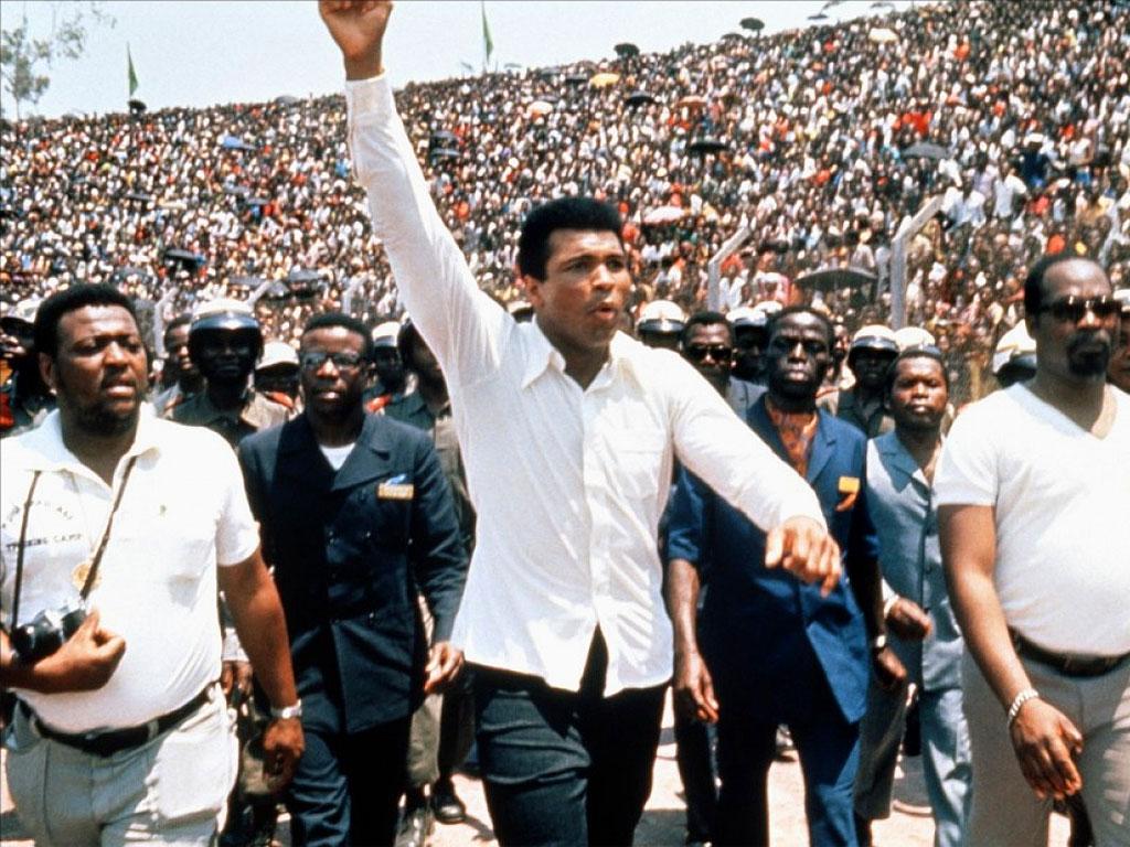 Cassius Clay a Kinshasa