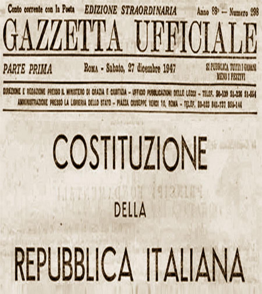 Risultati immagini per firma della costituzione italiana giorno