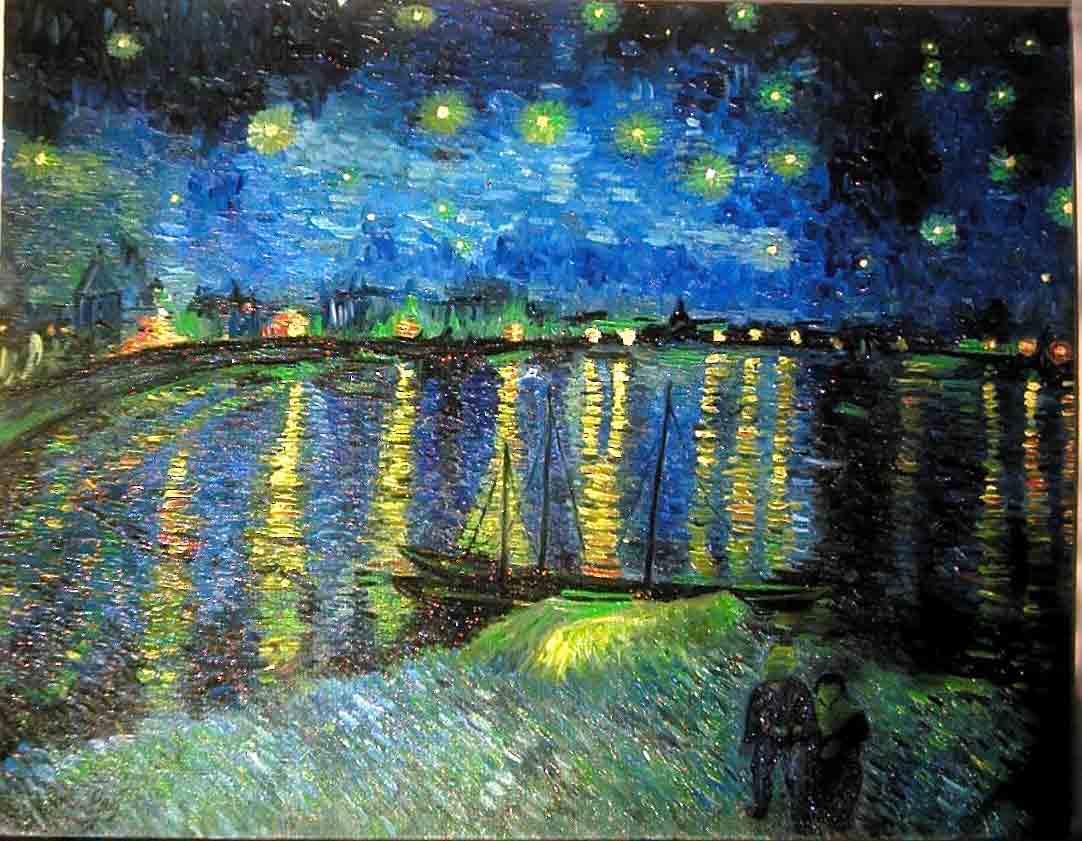 Notte stellata di Arles