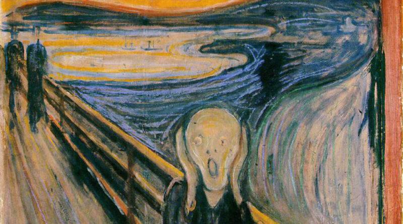 "Edvard Munch, ""L'Urlo"" (1885)"