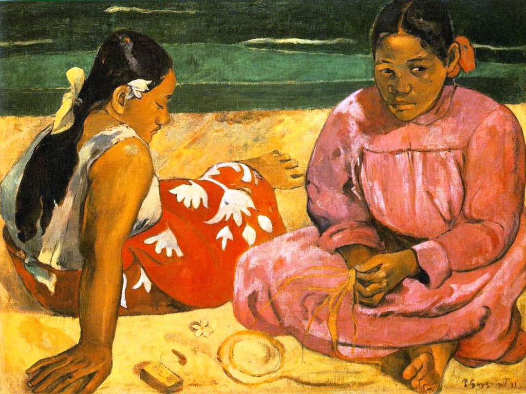 Due donne tahitiane sulla spiaggia, Gauguin