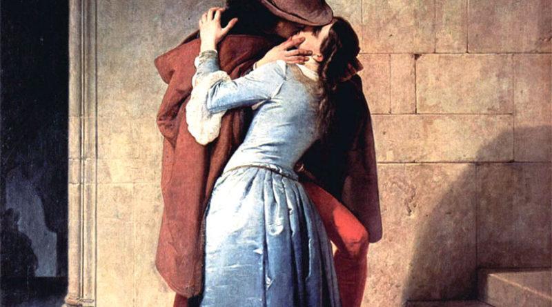 Francesco Hayez, Il Bacio (1859)