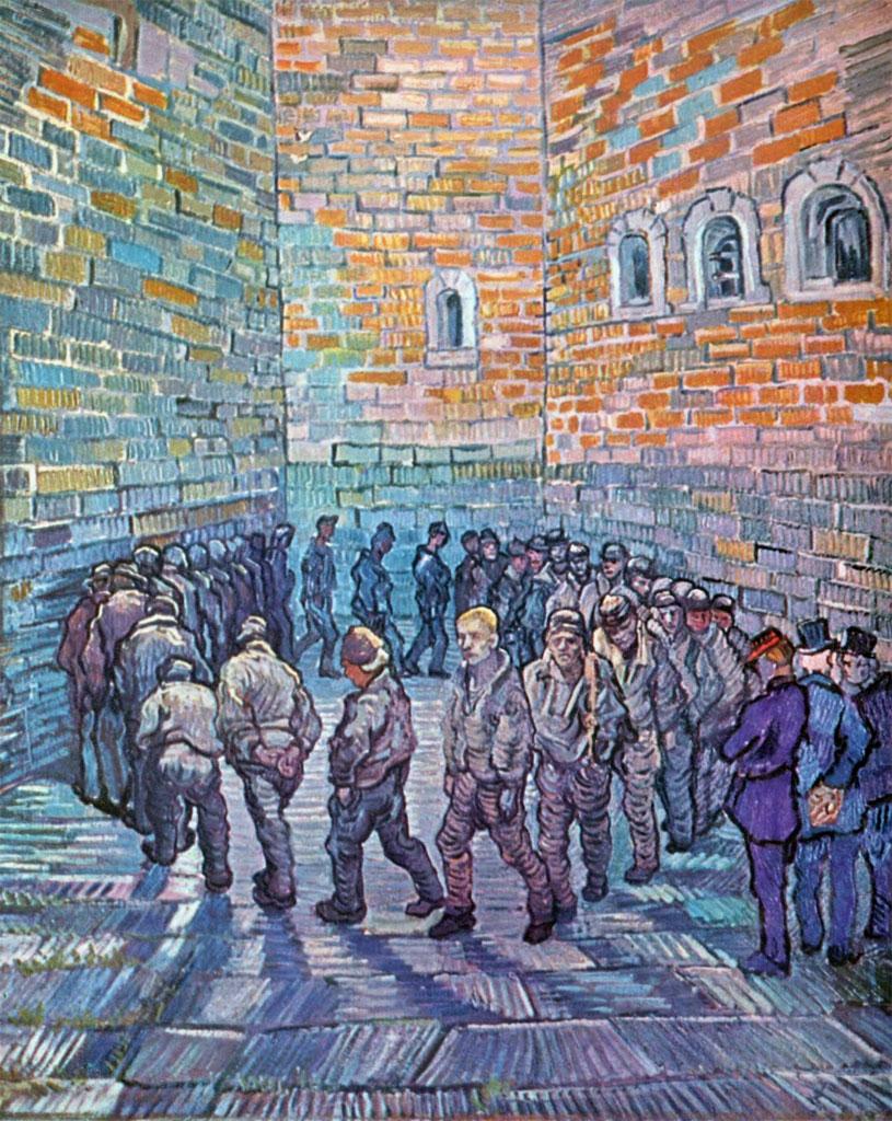 Van Gogh: La ronda dei carcerati