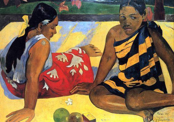Gauguin, Parau Api (1892)