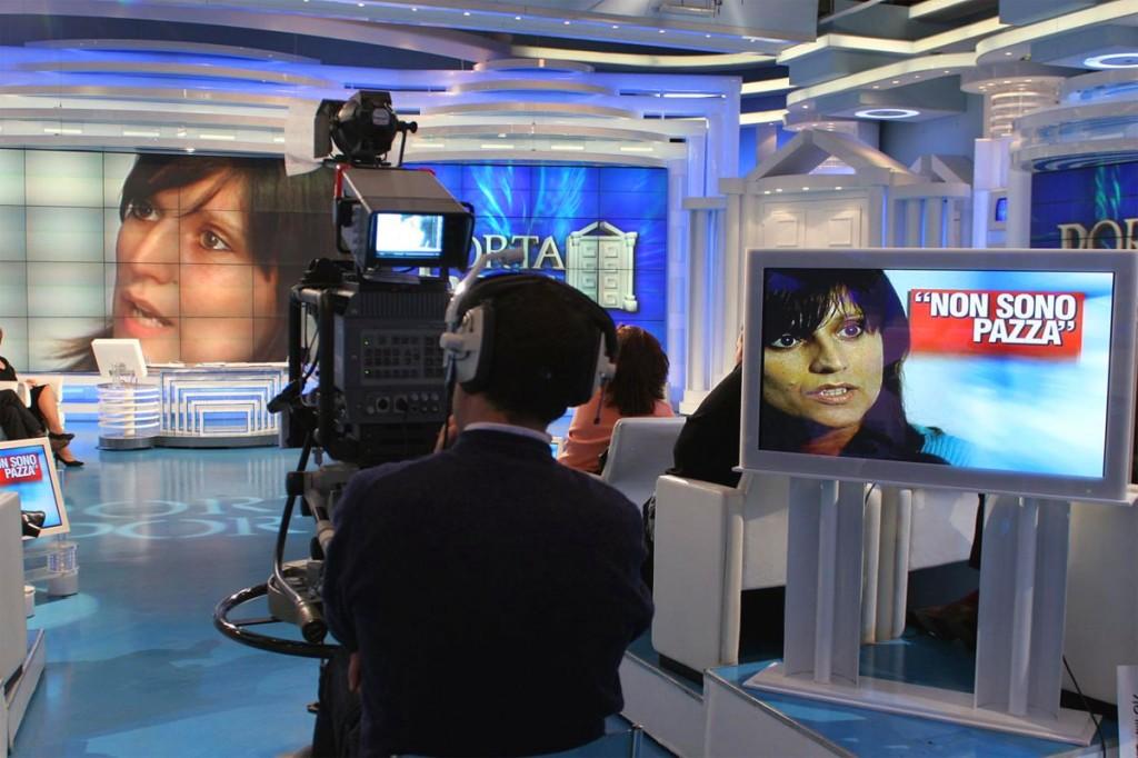 Anna Maria Franzoni al programma tv Porta a Porta
