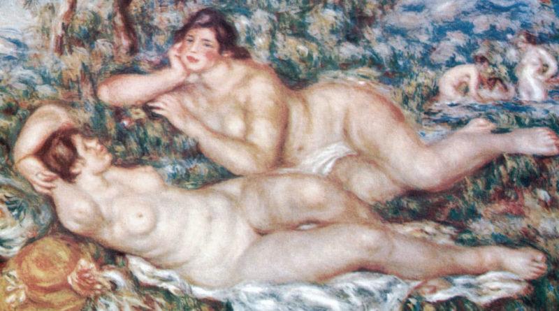 Le Bagnanti, di Renoir