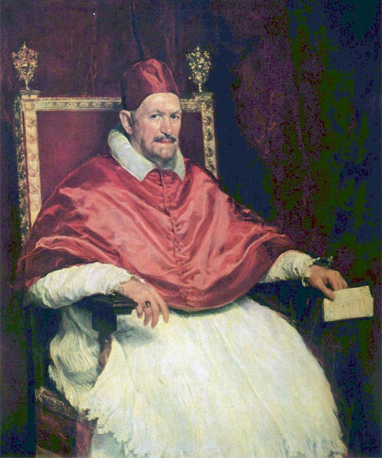 DiegoVelázquez. Ritratto di Innocenzo X (1650)