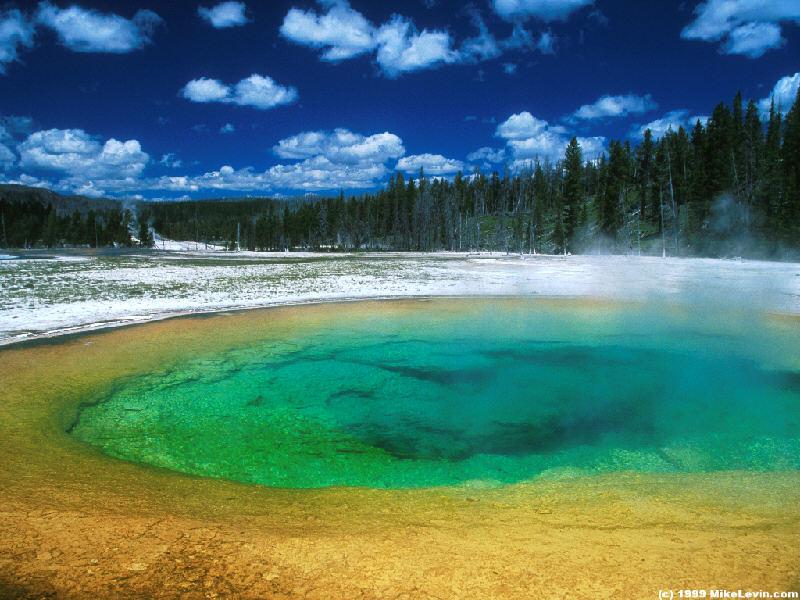 Il geyser Old Faithful