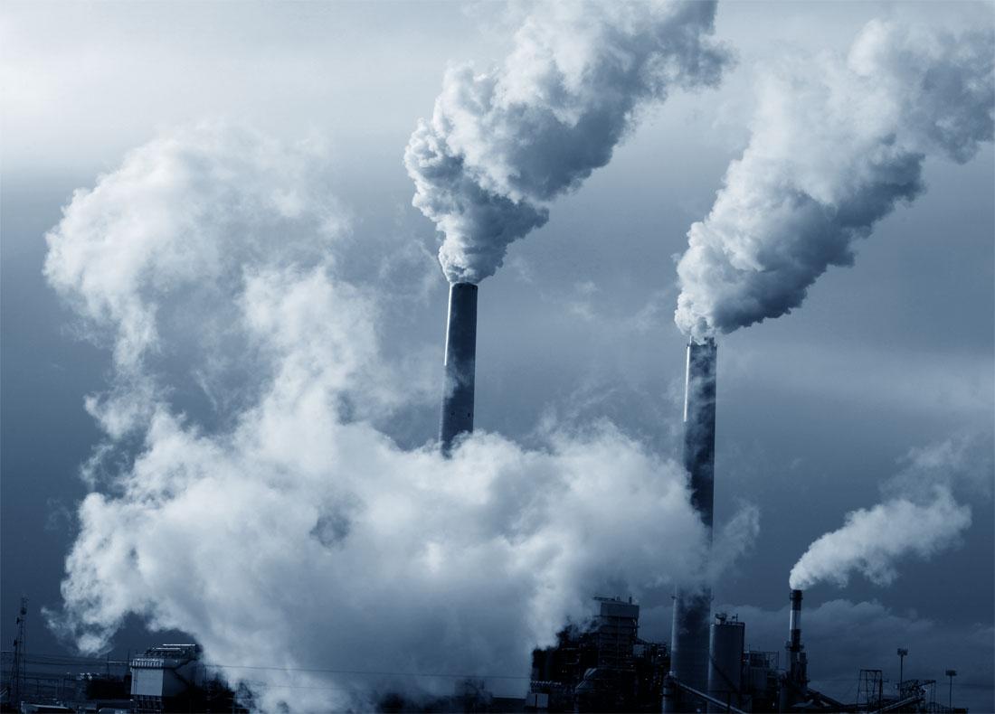 Riscaldamento globale: inquinamento prodotto dalle fabbriche
