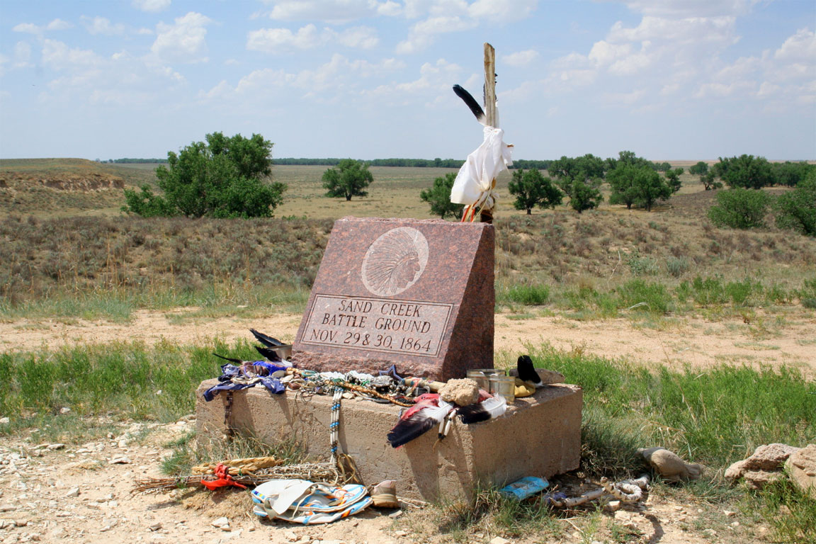Il luogo del Massacro di Sand Creek
