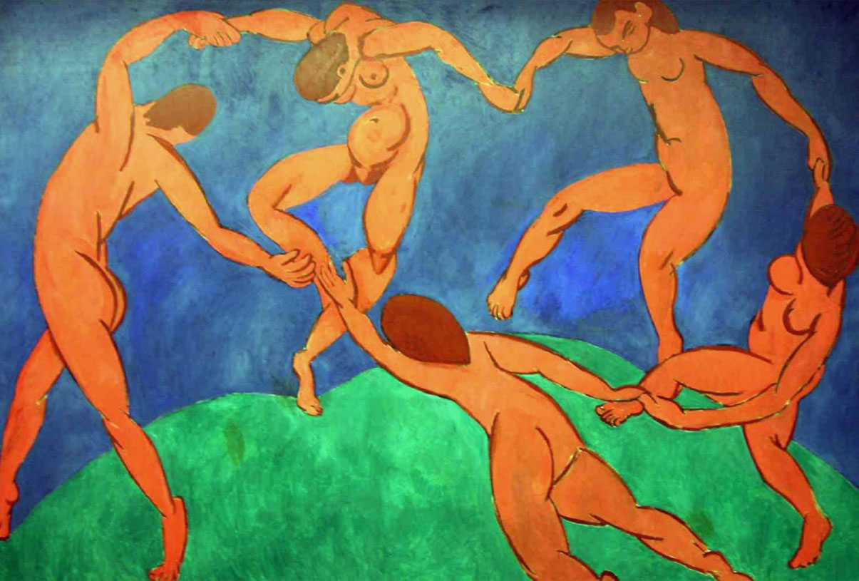 Henri Matisse, La Danza (1910)