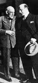 Luigi Pirandello con Ruggero Ruggeri