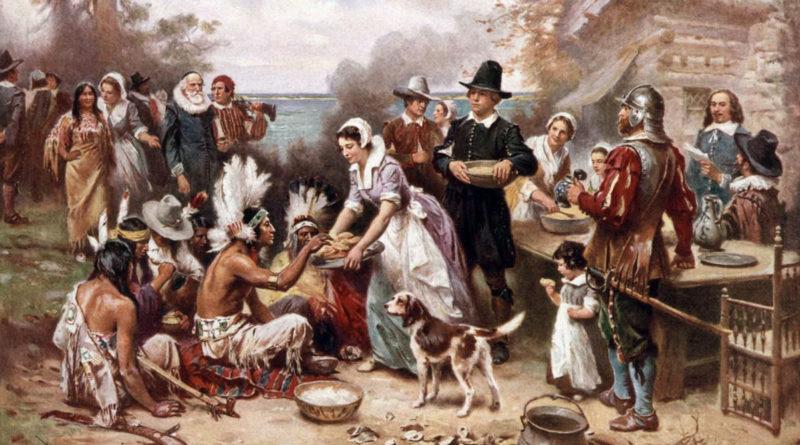 Il Giorno del Ringraziamento (Thanksgiving Day): padri pellegrini e nativi americani