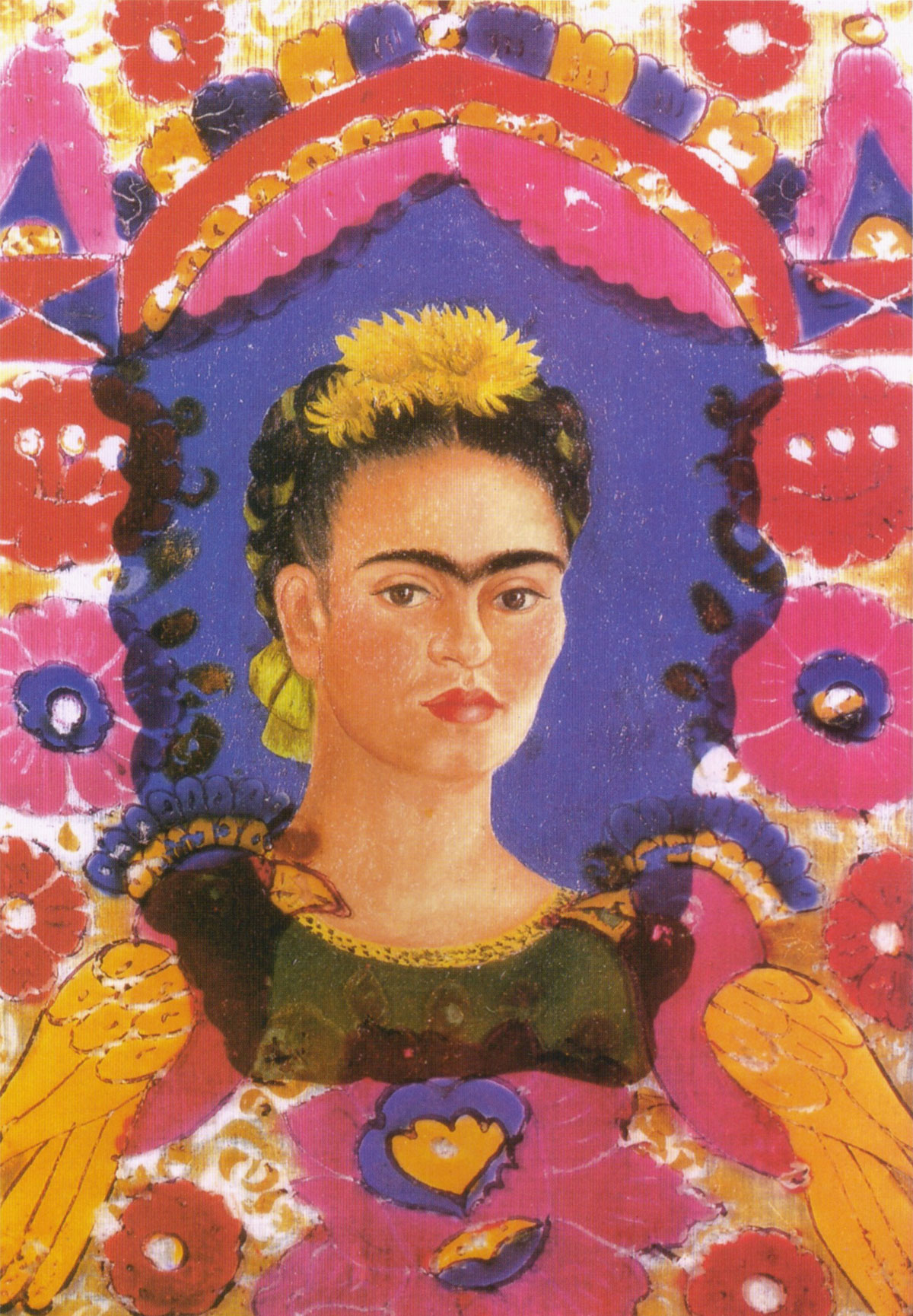 The Frame, autoritratto di Frida Kahlo (1938)