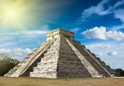Piramide maya a Chichén Itza