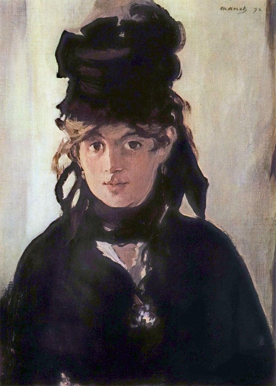 Berthe Morisot cappello nero