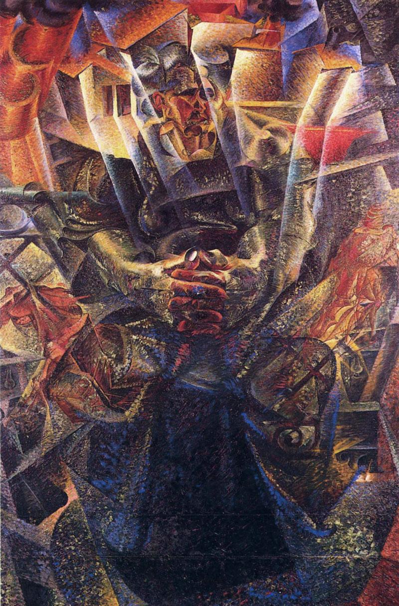 Umberto Boccioni: Materia (192-1913)