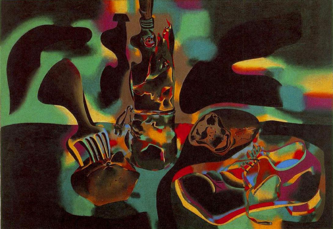 Natura morta con scarpa vecchia (1937)
