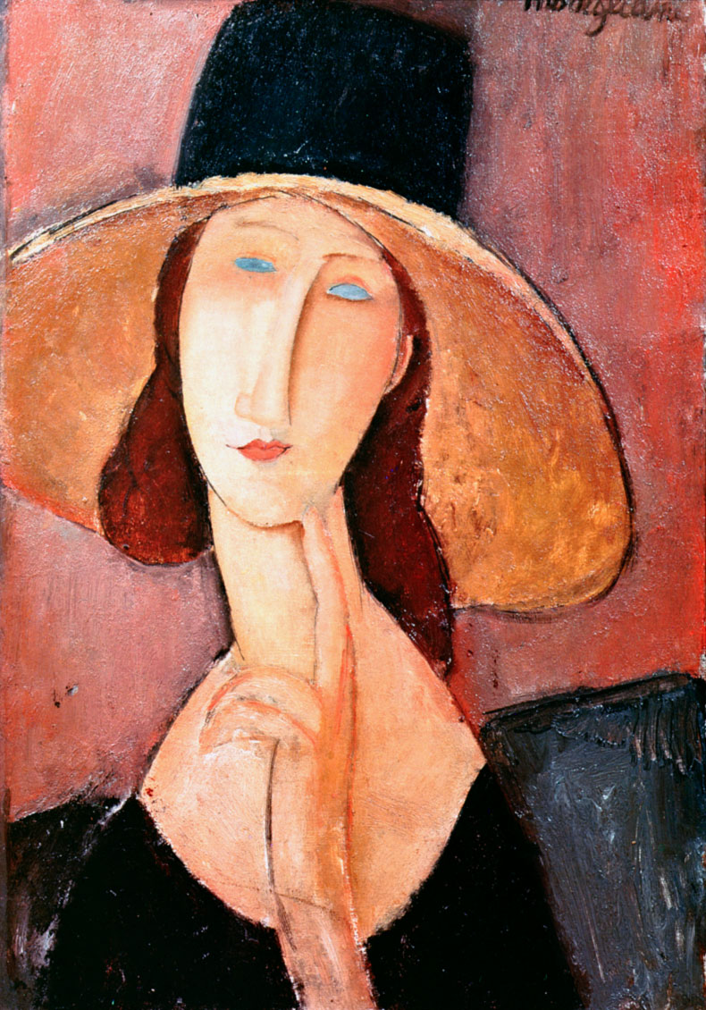 Ritratto di Jeanne Hébuterne, di Amedeo Modigliani (1917)