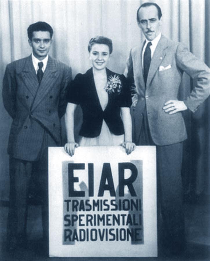 EIAR, le prime trasmissioni tv