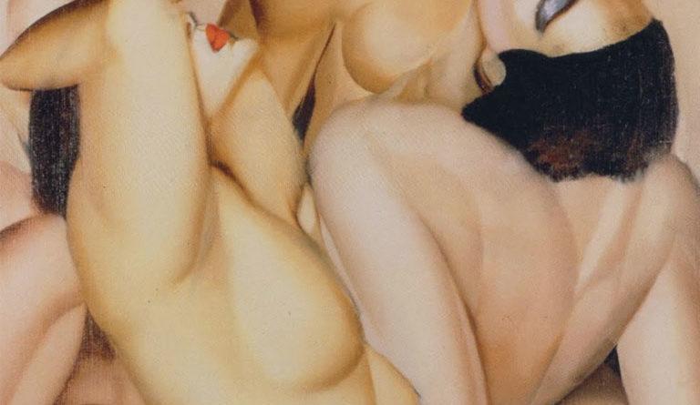Tamara de Lempicka, Gruppo di quattro donne nude ()