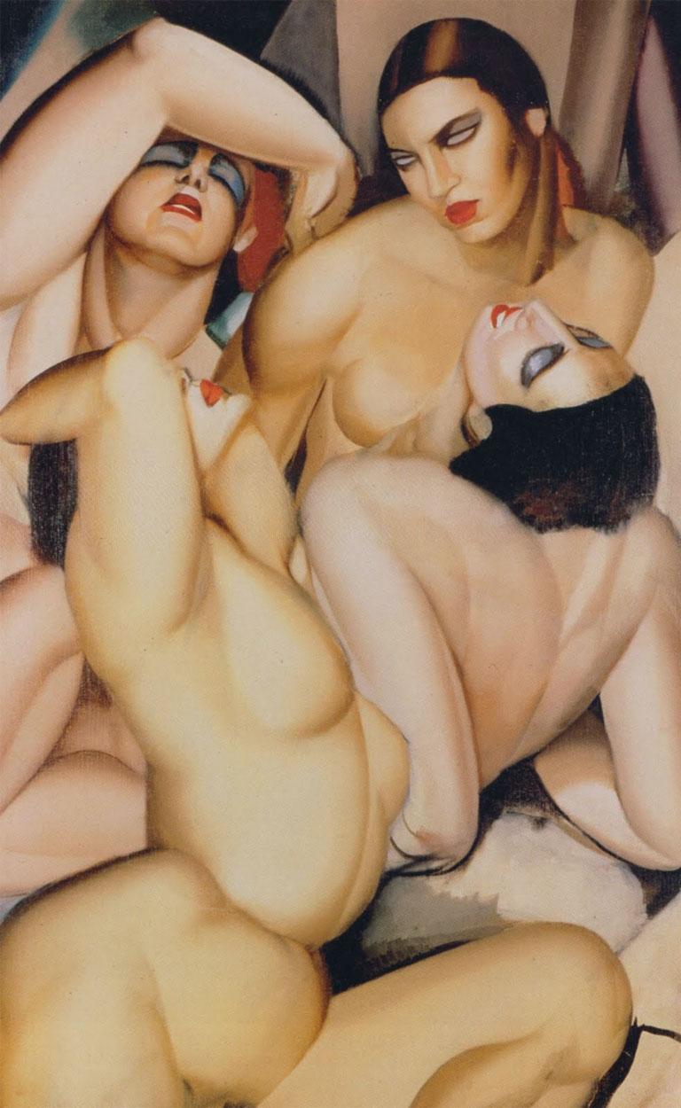 Tamara de Lempicka, Gruppo di quattro donne nude (1925)