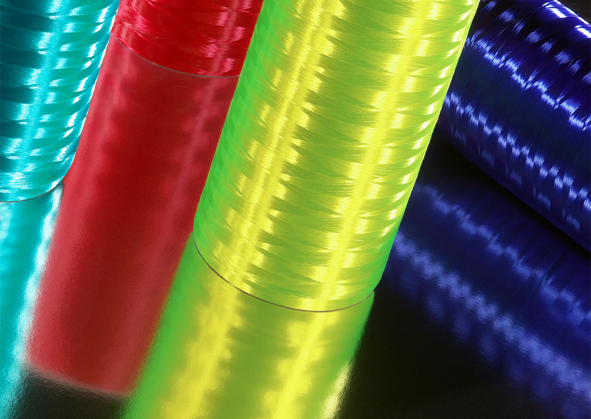 Nylon colorato